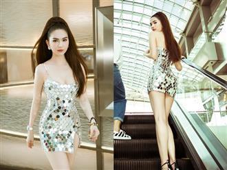 Sau chuỗi ngày bị 'ném đá' vì trang phục hở bạo, cộng đồng mạng bất ngờ khen Ngọc Trinh mặc 'vừa đẹp vừa sang'