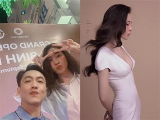 Sau kết hôn, Đàm Thu Trang khoe ảnh diện váy khoét sâu để lộ vòng 1 căng đầy quyến rũ