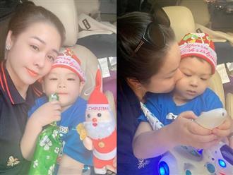 Sau màn 'đấu tố' giành quyền nuôi con, Nhật Kim Anh và chồng cũ Bửu Lộc đồng loạt đăng ảnh đưa quý tử đi chơi Noel