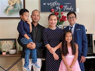 Sau tai nạn bỏng nặng, Hồng Ngọc rạng rỡ mừng kỷ niệm 11 năm ngày cưới bên ông xã