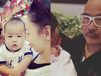 Sau tin đồn cha của con trai thứ 3 là người ngoại quốc, Trương Bá Chi liền đăng ảnh cận mặt Marcus