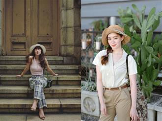 """Street style Châu Á: 12 set đồ đơn giản nhưng nhìn nàng nào cũng """"lên hương"""" nhờ loạt bí quyết hay"""