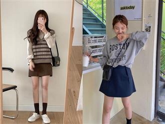 """Style xinh trẻ hơn là cái chắc nếu các nàng """"áp"""" theo 6 chiêu mix đồ với chân váy ngắn sau"""