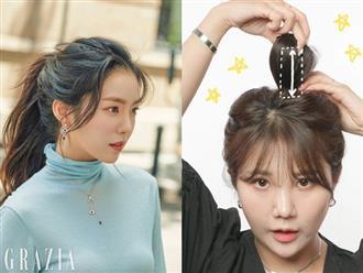 """Stylist """"bóc trần"""" bí kíp buộc tóc của Irene, bảo sao cô luôn xinh đẹp khiến dân tình ngắm không chán"""