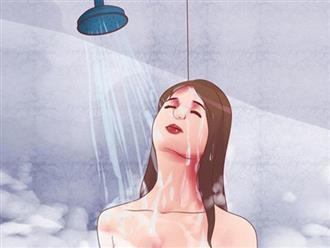Sức khỏe ngày càng sa sút, da nhăn nheo vì thường xuyên duy trì những thói quen tắm gội sai lầm này