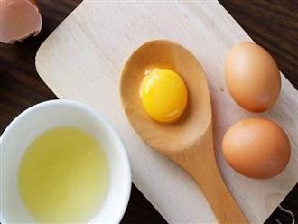 Tác dụng không ngờ của mặt nạ lòng đỏ trứng gà