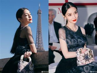 Thả dáng tại Paris, Angela Baby chứng minh đẳng cấp nhan sắc tựa công chúa bước ra từ cổ tích