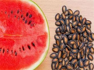 Thải độc gan, làm sạch thận cực hiệu quả với phần vứt đi của quả dưa hấu