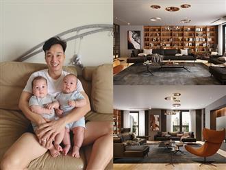 MC Thành Trung khoe nhà mới dành cho quý tử sinh đôi, cư dân mạng xem đến đâu choáng váng đến đó vì quá sang chảnh