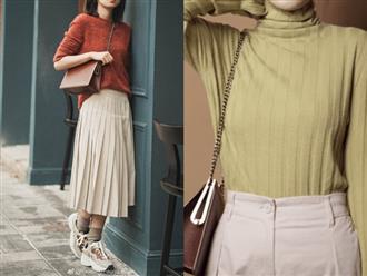 Thêm đất diễn cho 3 kiểu áo len trơn màu: Đơn giản thế nào cũng có cách làm cho chúng khác biệt