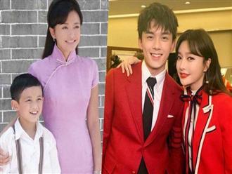 """""""Thử thách 10 năm"""" gây sốt nhất Gala chào xuân: Tần Lam trẻ đẹp bất biến bên """"con trai"""" Ngô Lỗi cao ngồng, siêu điển trai"""