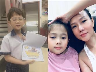 Thừa hưởng nhiều nét giống mẹ, con trai Dương Yến Ngọc bị nhận nhầm là con gái