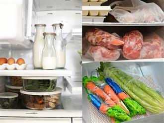 Thường xuyên bảo quản thực phẩm trong tủ lạnh mà không biết những điều này thì chỉ rước bệnh vào người