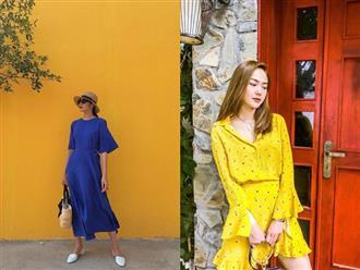 """Tiện một công tung tăng diện váy xinh, loạt sao Việt """"gián tiếp"""" gợi ý cho các chị em những mẫu váy liền đáng sắm nhất trong hè này"""