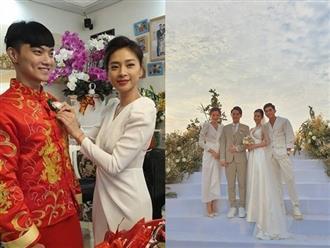 """Tiết kiệm như Ngô Thanh Vân: Chỉ một bộ đầm trắng mà """"đả nữ"""" diện từ ngày cưới em trai đến đám cưới thế kỷ của Đông Nhi"""