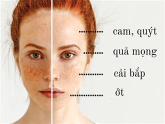 Tìm hiểu chế độ ăn cho từng loại da