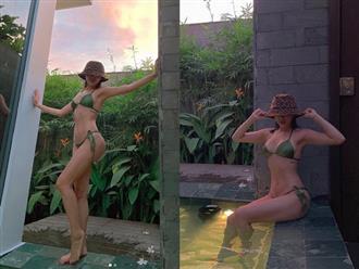 Tóc Tiên diện bikini nhỏ xíu khoe body S-line chuẩn chỉnh, 'đốt mắt' người nhìn với đôi gò bồng đảo căng đầy