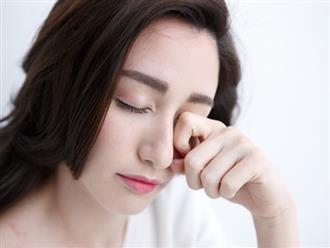Tới gặp bác sĩ ngay nếu bạn bị đau mắt kèm theo những triệu chứng này