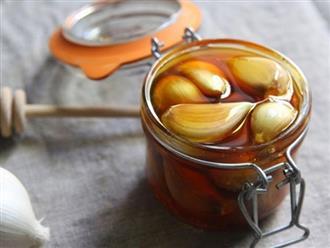 Tỏi, giấm táo và mật ong: Công thức hữu ích cho người béo phì