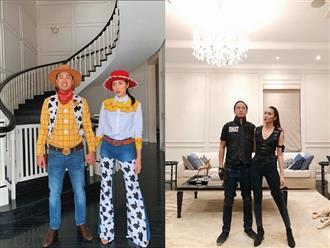 Tổng hợp những màn hóa trang Halloween cực chất của vợ chồng Tăng Thanh Hà