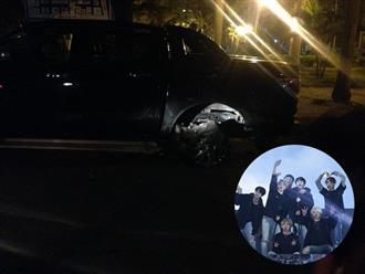 Trước thềm MAMA 2018, BTS bất ngờ gặp tai nạn giao thông ngay sau concert tại Đài Loan