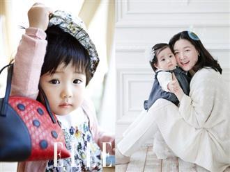Từ bé đã lên bìa tạp chí, ai ngờ con gái 8 tuổi của Lee Young Ae giờ đã lớn và xinh đến mức này rồi!
