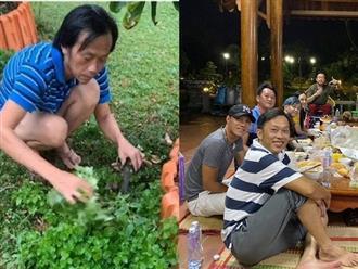 Tụ tập ăn uống cùng đồng nghiệp, ngoại hình của danh hài Hoài Linh bất ngờ gây chú ý