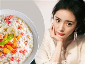 """Từng một lần sinh nở nhưng nàng """"ngọc nữ"""" Dương Mịch vẫn gây sốt vì vóc dáng khỏe khoắn, trẻ trung nhờ thường xuyên ăn món đơn giản này trong bữa sáng"""