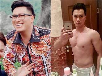 Từng tăng 6kg để đóng phim, Việt Anh bất ngờ khoe ảnh hậu giảm cân nhưng lại bị bạn thân vào 'bóc phốt'