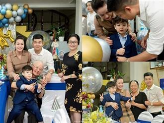 Từng tố nhau quyết liệt hậu ly hôn, Nhật Kim Anh vẫn vui vẻ cùng chồng cũ tổ chức sinh nhật cho con trai