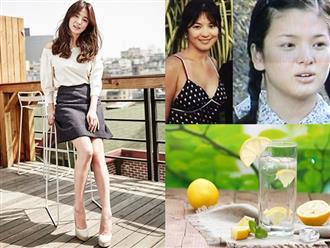 Uống 3 lít nước chanh mỗi ngày: Đây chính là cách giảm cân đặc biệt của Song Hye Kyo