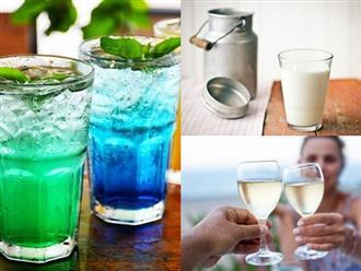 Uống 4 nhóm đồ uống này càng khiến mụn mọc nhiều gấp đôi, dưỡng da không kịp