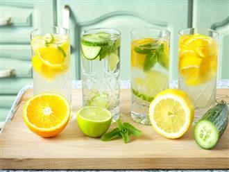 Uống nước chanh buổi sáng hay buổi tối tốt hơn?