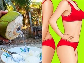Uống nước dừa có giúp giảm cân không và uống lúc nào là tốt nhất?