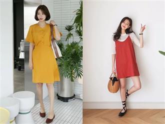 Váy áo màu nổi cho mùa thu