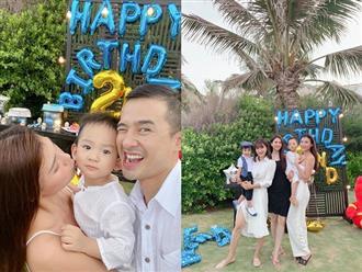 Vợ chồng Lương Thế Thành tổ chức tiệc sinh nhật hoành tráng cho con, hội mẹ bỉm sữa Thúy Diễm – Nguyệt Ánh cùng đọ sắc