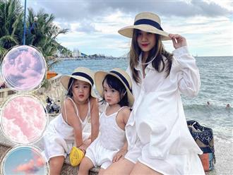 Vợ cũ Hoài Lâm đăng ảnh du lịch cùng con gái nhưng lại khiến dân tình hoang mang với vòng 2 nhô cao