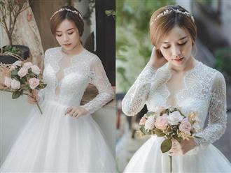 Vợ cũ Hoài Lâm gây bất ngờ khi diện váy cưới lộng lẫy, tiết lộ bản thân đang hoàn thành những ước mơ dang dở