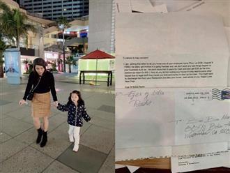 Quỳnh Như đau đớn tố có người gửi thư đe dọa, ép chủ trọ đuổi cả gia đình ra đường