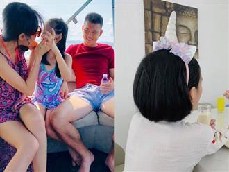 Vốn 'giấu kín như bưng', Thủy Tiên bất ngờ khoe ảnh con gái Bánh Gạo lên trang cá nhân khiến dân mạng thích thú