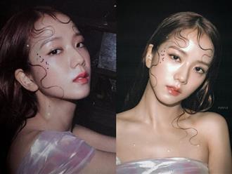 """Vốn xinh sẵn lại được makeup đúng chuẩn """"sương sương"""", chẳng trách Jisoo được gọi là nữ thần"""