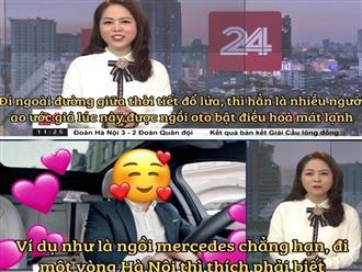 """VTV vừa có màn """"cà khịa"""" căng cực khi nhắc đến câu """"ngồi xe Mẹc đi một vòng Hà Nội"""" từ ồn ào của Quang Hải"""