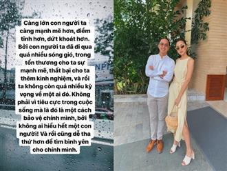 Vừa bị nghi hôn nhân trục trặc, Hà Tăng lại gây chú ý với dòng bình luận dưới bài đăng của ông xã Louis Nguyễn