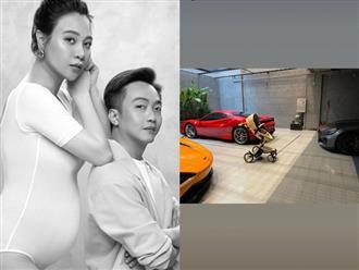 Vừa công khai có con đầu lòng, Cường Đô La đã chuẩn bị món quà đầu tiên cho bé và tiện khoe khéo luôn dàn siêu xe