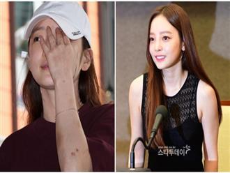 Vừa khóc vừa tuyên bố hoạt động trở lại ngay sau scandal, Goo Hara làm netizen Hàn tranh cãi nhiệt liệt