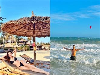 Vừa từ Nhật về, Hà Hồ và Kim Lý lại dắt nhau đi biển nhưng gây chú ý nhất là body cực phẩm của cặp đôi