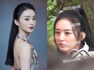 Xinh đẹp như tiên nữ tại sự kiện nhưng Triệu Lệ Dĩnh lại lộ dấu hiệu lão hóa trên phim trường 'Hữu Phỉ'