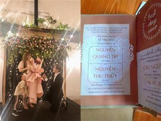 Xôn xao thông tin Thu Thủy kết hôn vào tháng 7, lộ hình ảnh thiệp cưới với bạn trai kém 10 tuổi
