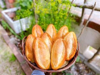 Tự làm bánh mì vàng ươm, giòn rụm với 'bí kíp' lên men tự nhiên cực hot