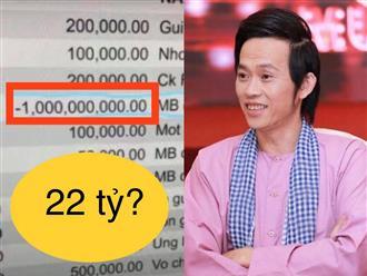 Biến căng: CĐM truyền tay sao kê từ thiện NS Hoài Linh lên đến 22 tỷ đồng, 1 tỷ được giao dịch đáng 'nghi', lùm xùm vẫn chưa kết thúc?